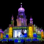 Harbin packing list: Ice palace at the Harbin ice festival.